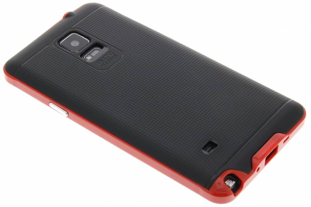 Rode TPU Protect case voor de Samsung Galaxy Note 4