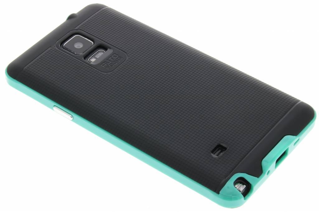 Mintgroene TPU Protect case voor de Samsung Galaxy Note 4