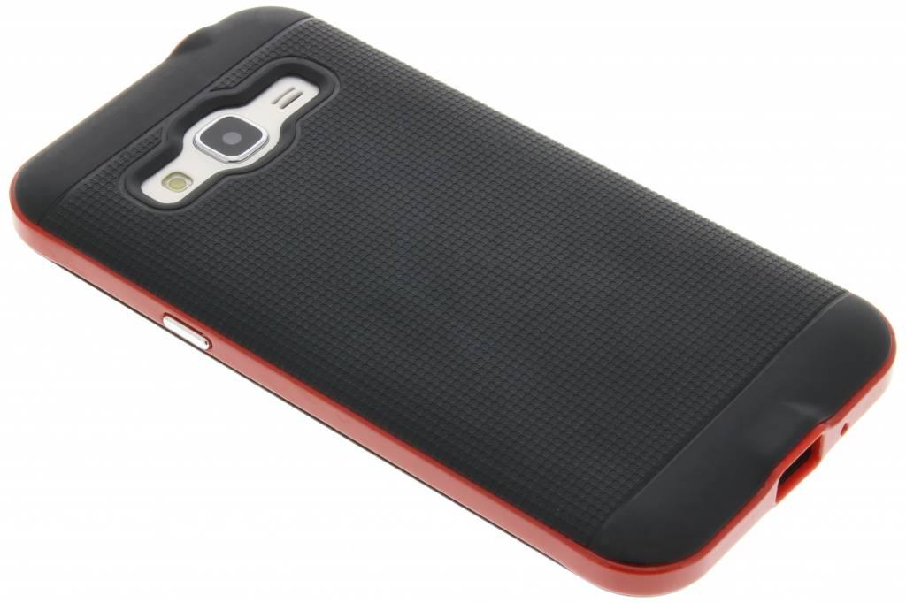 Rode TPU Protect case voor de Samsung Galaxy J3 / J3 (2016)