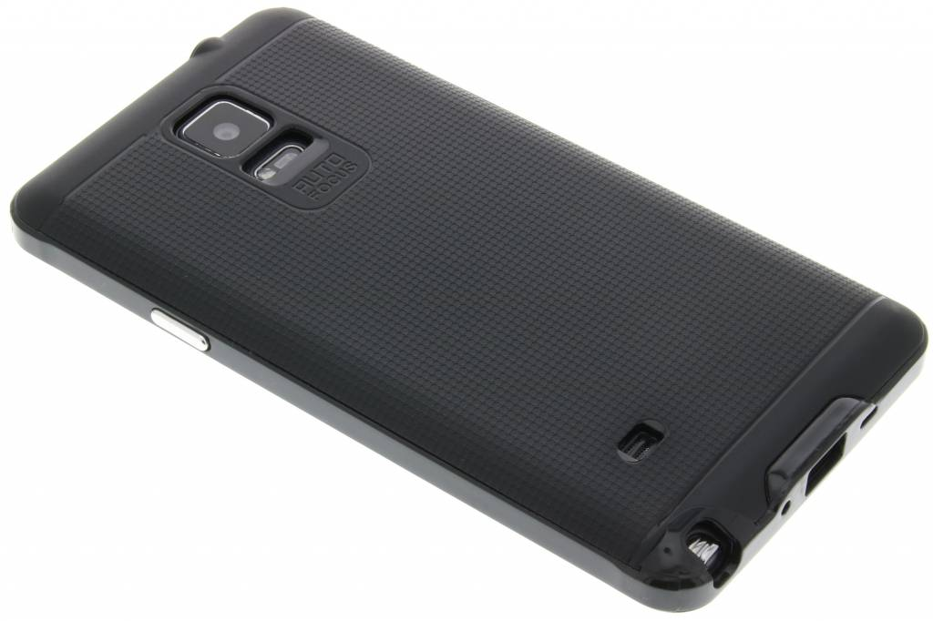 Zwarte TPU Protect case voor de Samsung Galaxy Note 4