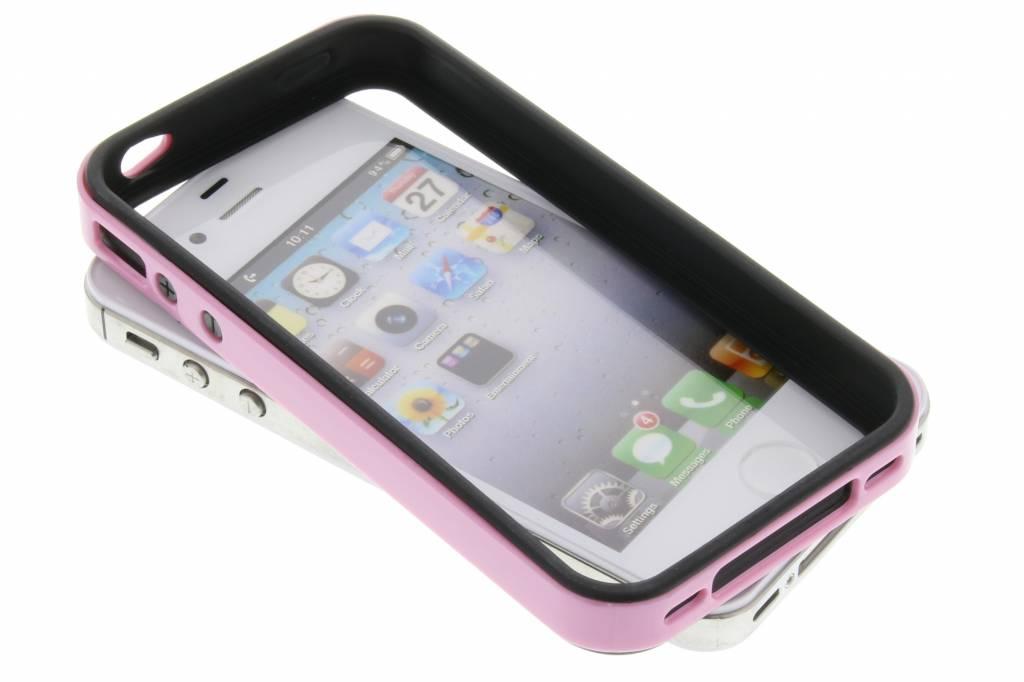 Roze bumper voor de iPhone 4 / 4s