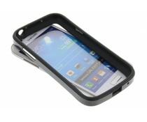 Zwart bumper Samsung Galaxy S4 Mini