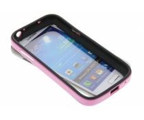 Roze bumper Samsung Galaxy S4 Mini