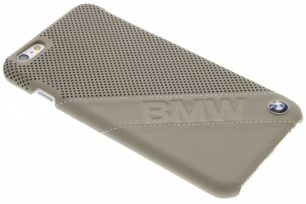 Image of Hard Case Slanted Logo voor de iPhone 6(s) Plus - Taupe