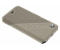 BMW Booktype Case Slanted Logo iPhone 6 / 6s - Taupe