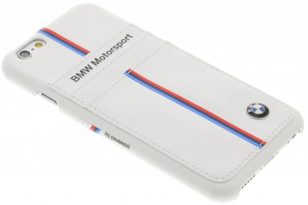 BMW Motorsport Vertical Tricolor Stripe Hard Case voor de iPhone 6 / 6s - White