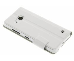 Mozo Book Cover Microsoft Lumia 550 - White