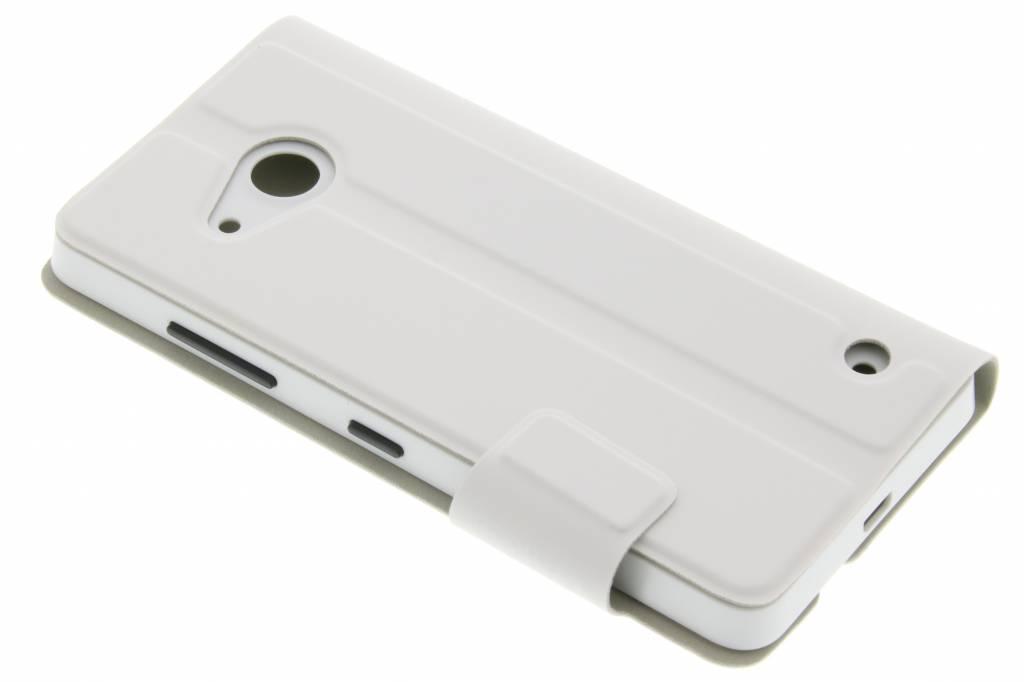 Mozo Book Cover voor de Microsoft Lumia 550 - White