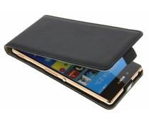 Selencia Luxe Flipcase Sony Xperia Z3 Plus - Zwart