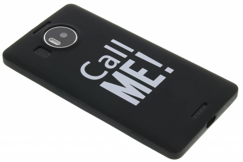 Call me glow in the dark TPU case voor de Microsoft Lumia 950 XL