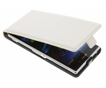 Luxe leder flipcae Sony Xperia Z1