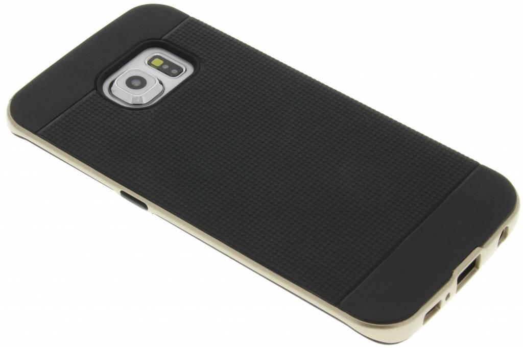 Gouden TPU Protect case voor de Samsung Galaxy S6 Edge