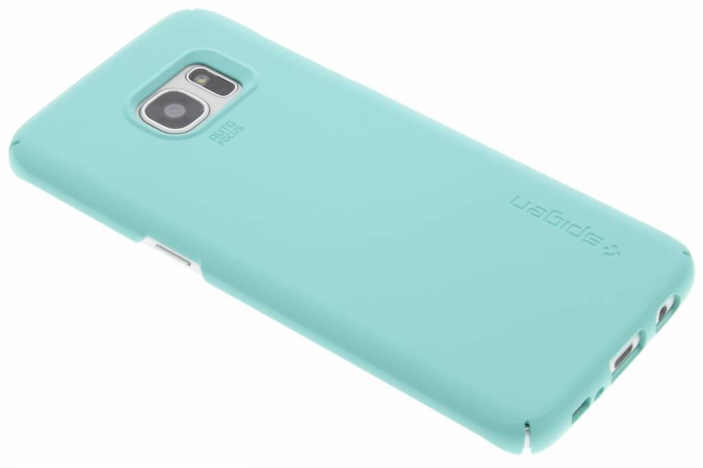 Spigen Thin Fit Hardcase voor de Samsung Galaxy S7 Edge - Mint
