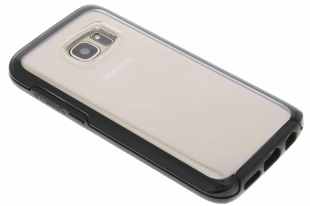 OtterBox Symmetry Clear Case voor de Samsung Galaxy S7 - Black Crystal