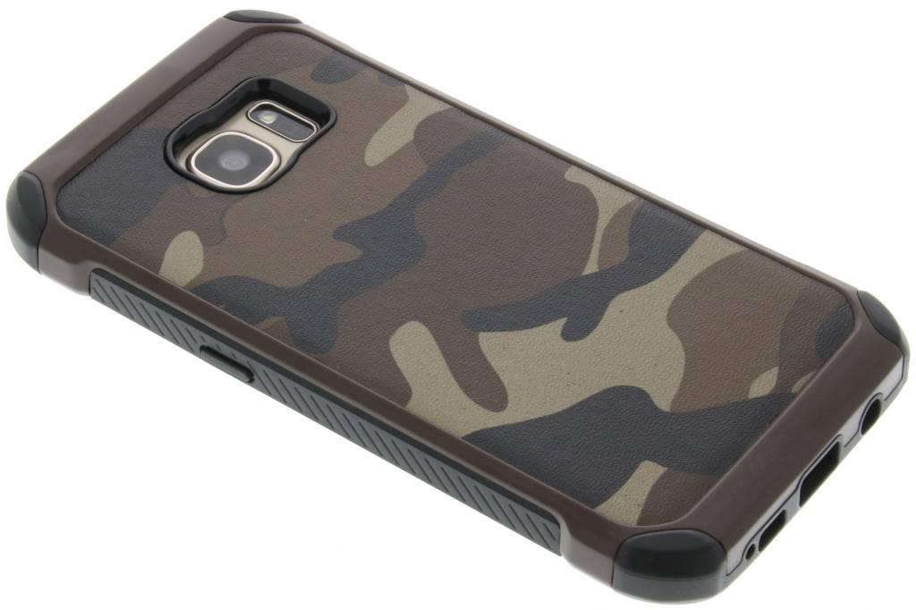 Bruin army defender hardcase hoesje voor de Samsung Galaxy S7