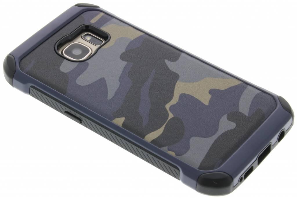 Blauw army defender hardcase hoesje voor de Samsung Galaxy S7