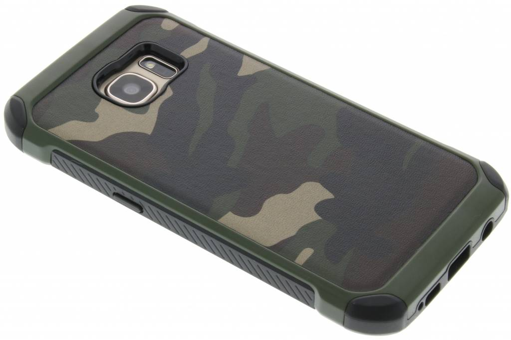 Groen army defender hardcase hoesje voor de Samsung Galaxy S7