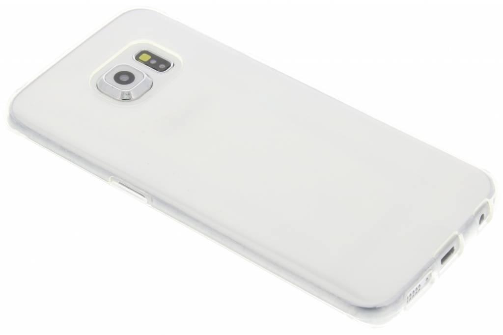 Transparante gel case voor de Samsung Galaxy S6 Edge