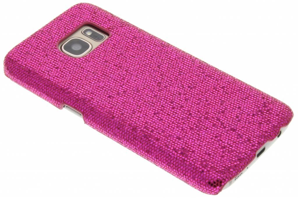 Fuchsia glamour design hardcase hoesje voor de Samsung Galaxy S7