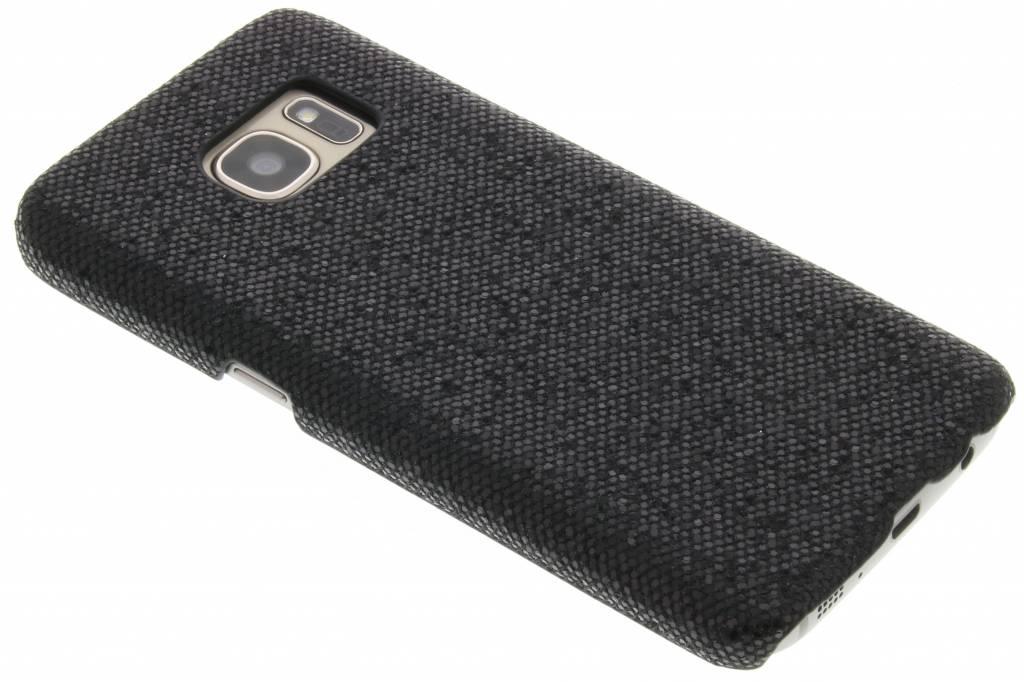 Zwart glamour design hardcase hoesje voor de Samsung Galaxy S7