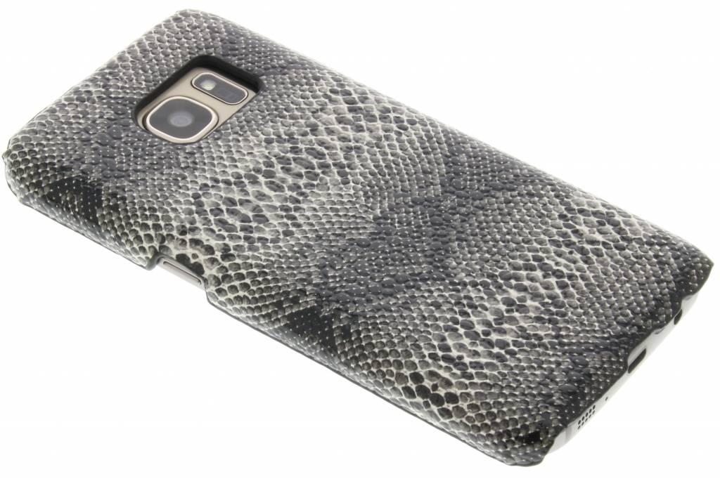 Zwart slangen design hardcase hoesje voor de Samsung Galaxy S7