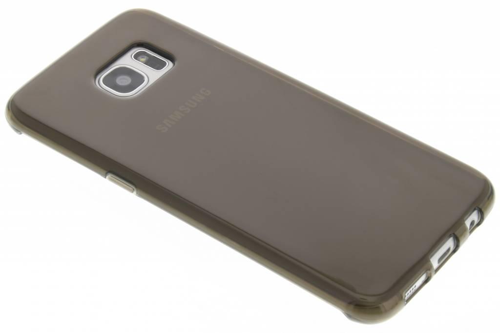 Grijs transparante gel case voor de Samsung Galaxy S7 Edge
