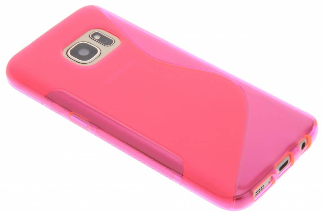 Roze S-line TPU hoesje voor de Samsung Galaxy S7