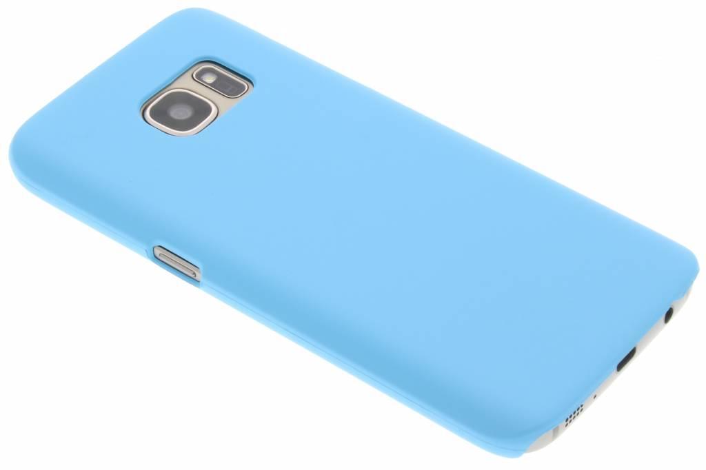 Turquoise effen hardcase hoesje voor de Samsung Galaxy S7