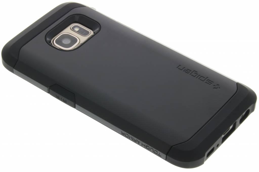 Spigen Tough Armor Case voor de Samsung Galaxy S7 - Zwart