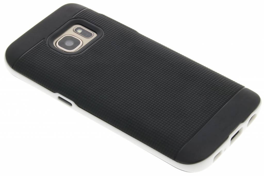 Witte TPU Protect case voor de Samsung Galaxy S7