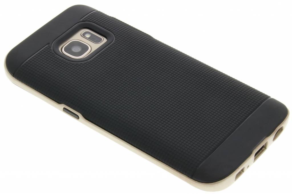 Gouden TPU Protect case voor de Samsung Galaxy S7