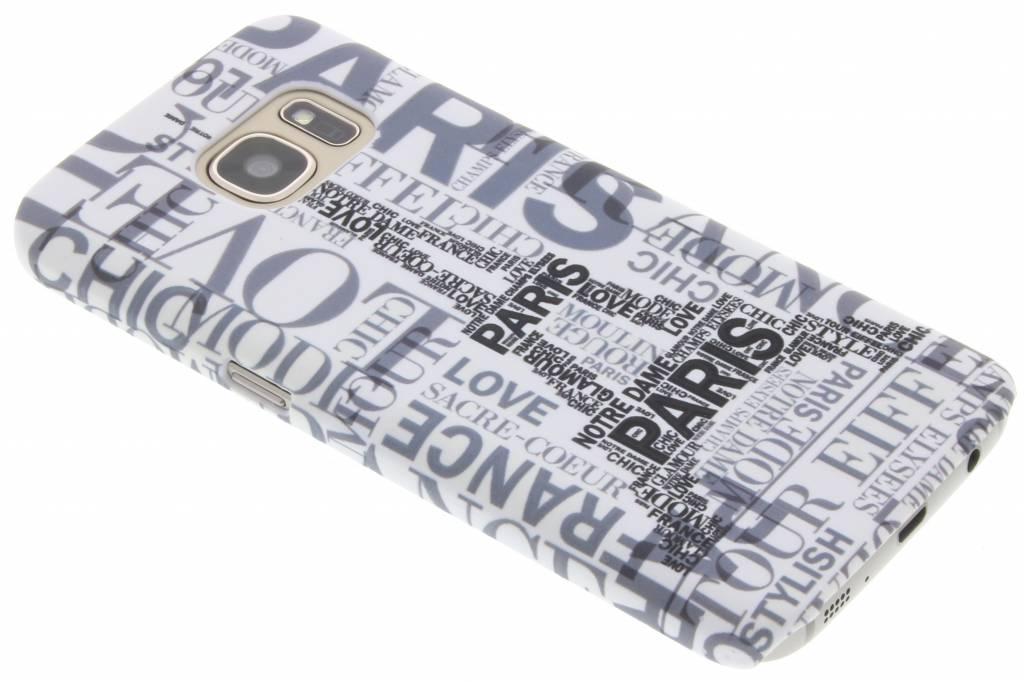 Parijs design hardcase hoesje voor de Samsung Galaxy S7