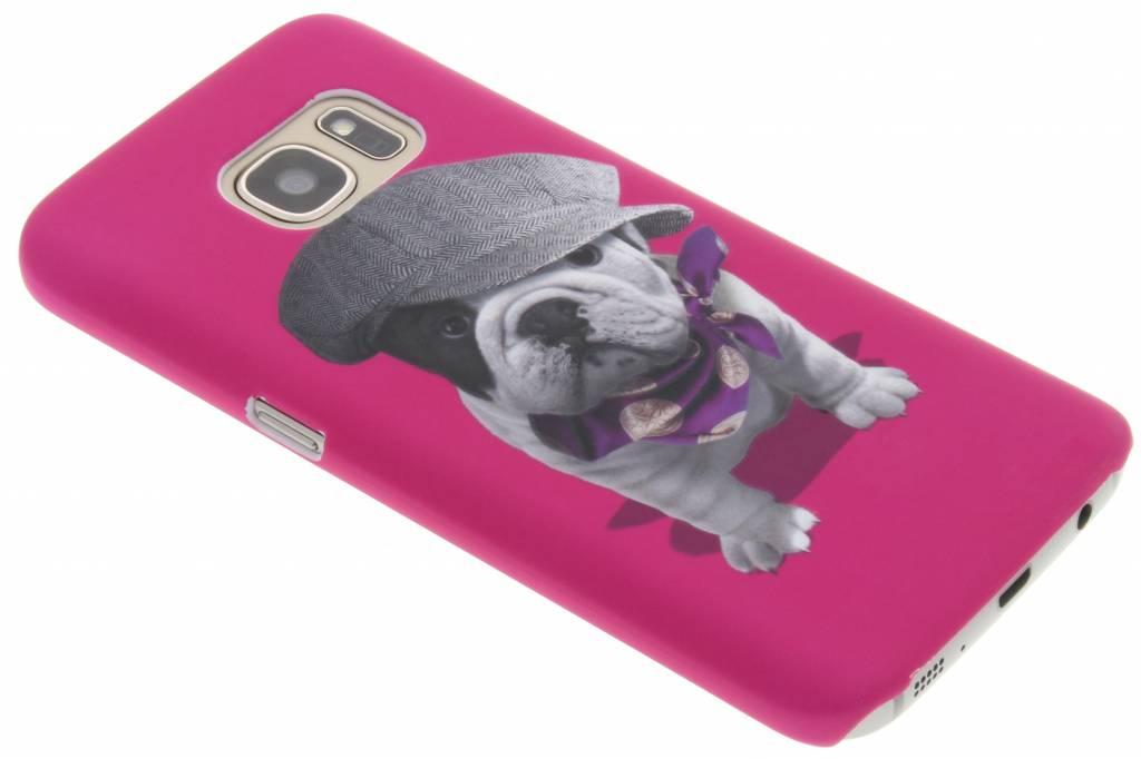 Pug design hardcase hoesje voor de Samsung Galaxy S7