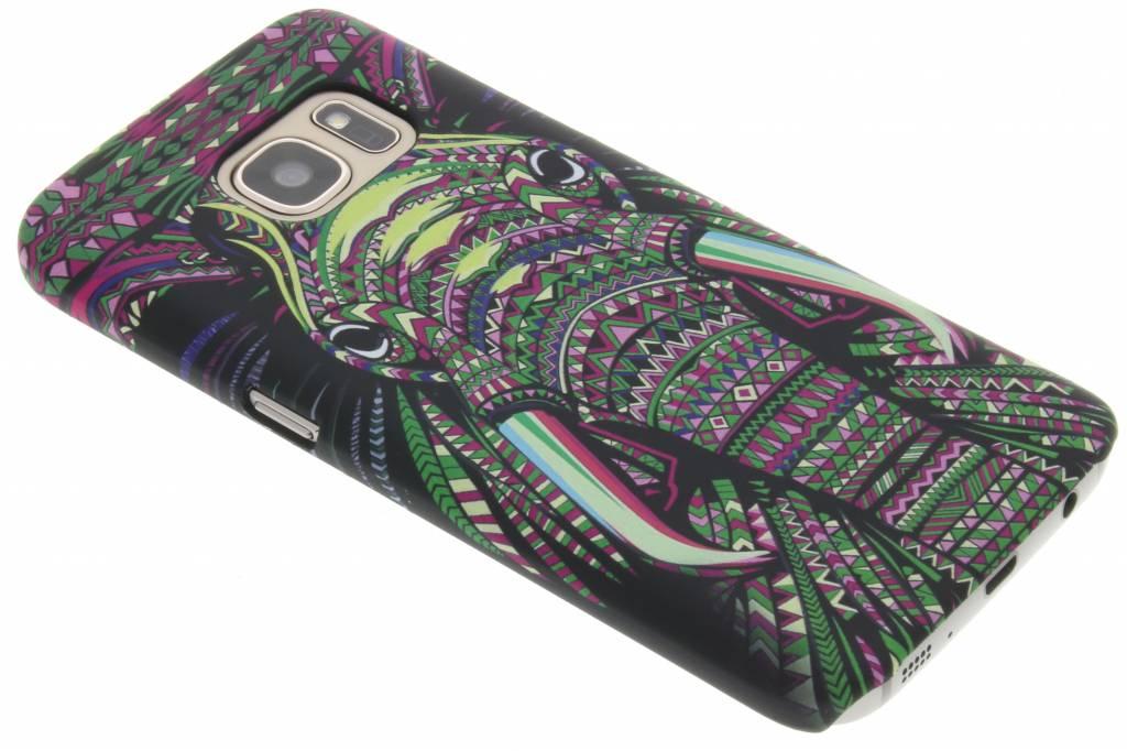 Olifant aztec animal design hardcase hoesje voor de Samsung Galaxy S7