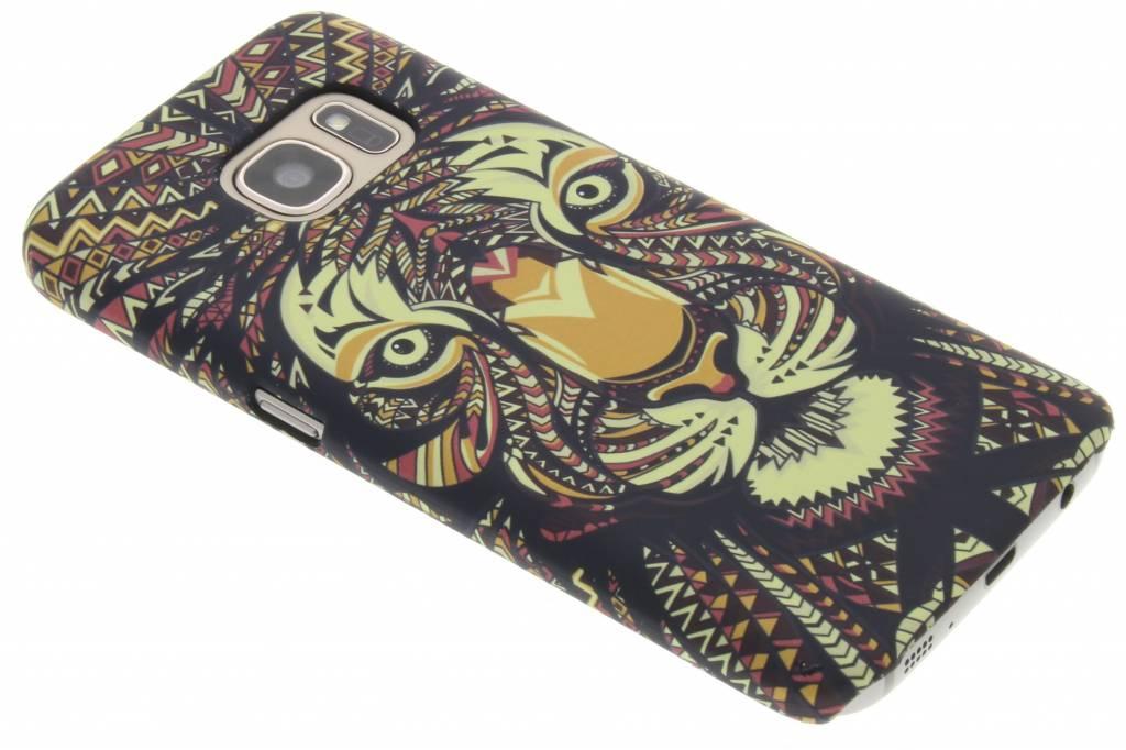 Tijger aztec animal design hardcase hoesje voor de Samsung Galaxy S7