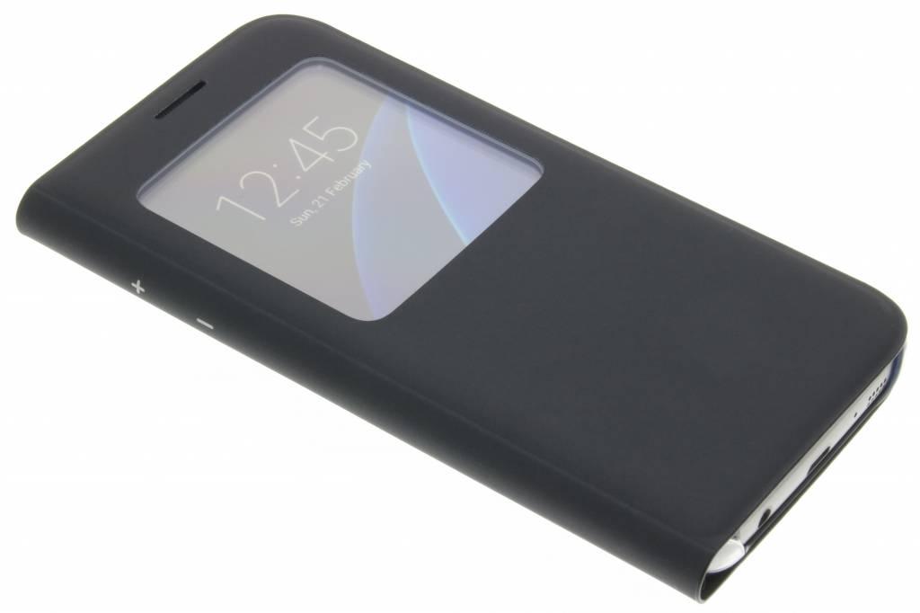 Samsung originele S View Cover voor de Galaxy S7 - Zwart