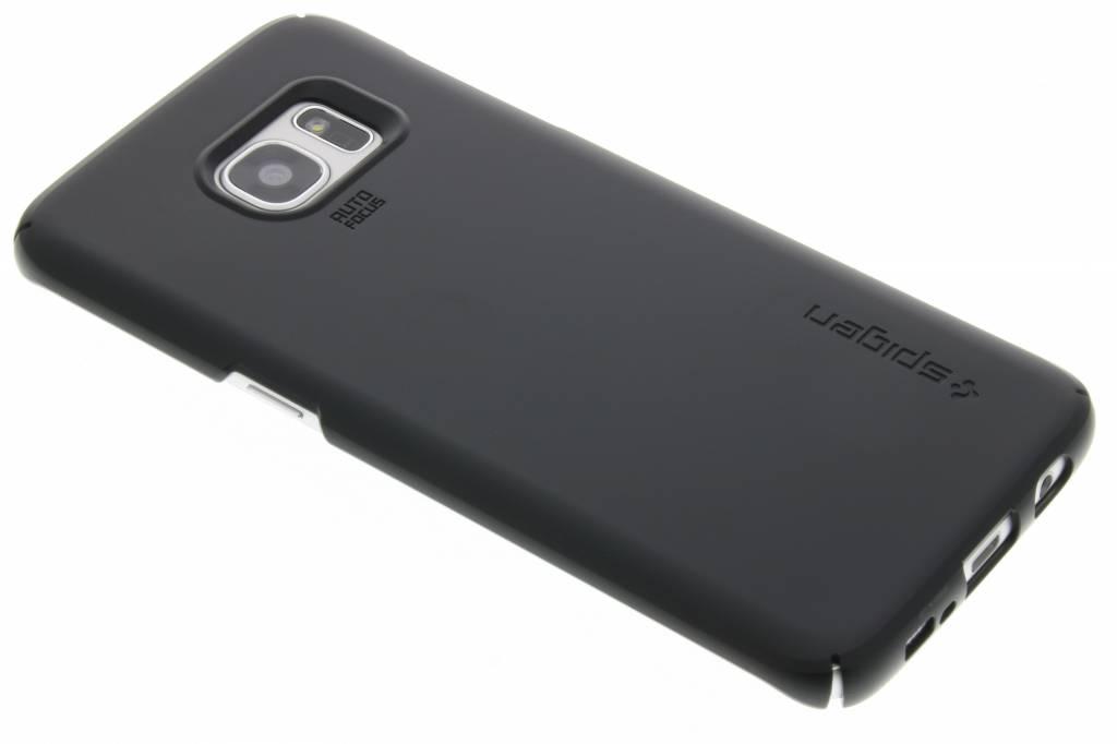 Spigen Thin Fit Hardcase voor de Samsung Galaxy S7 Edge - Black