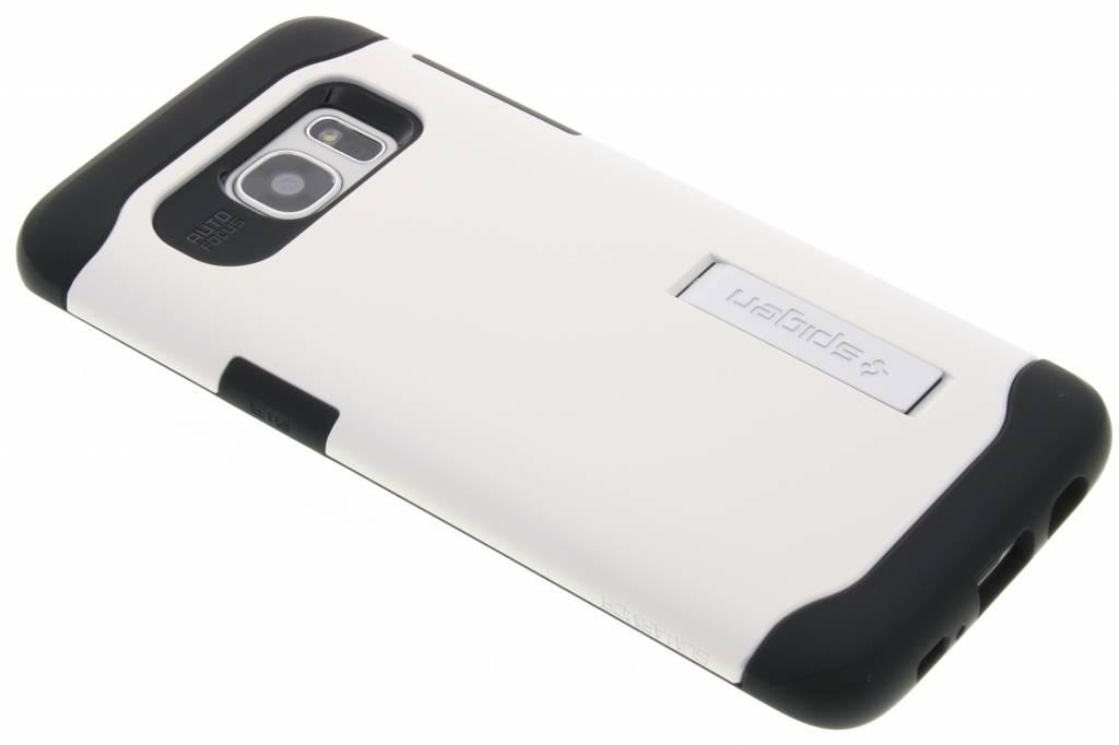 Spigen Slim Armor Case voor de Samsung Galaxy S7 Edge - Wit