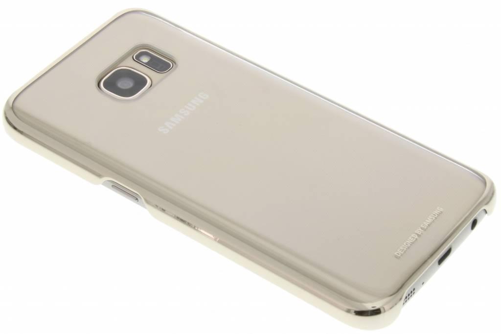 Samsung originele Clear Cover voor de Galaxy S7 - Goud