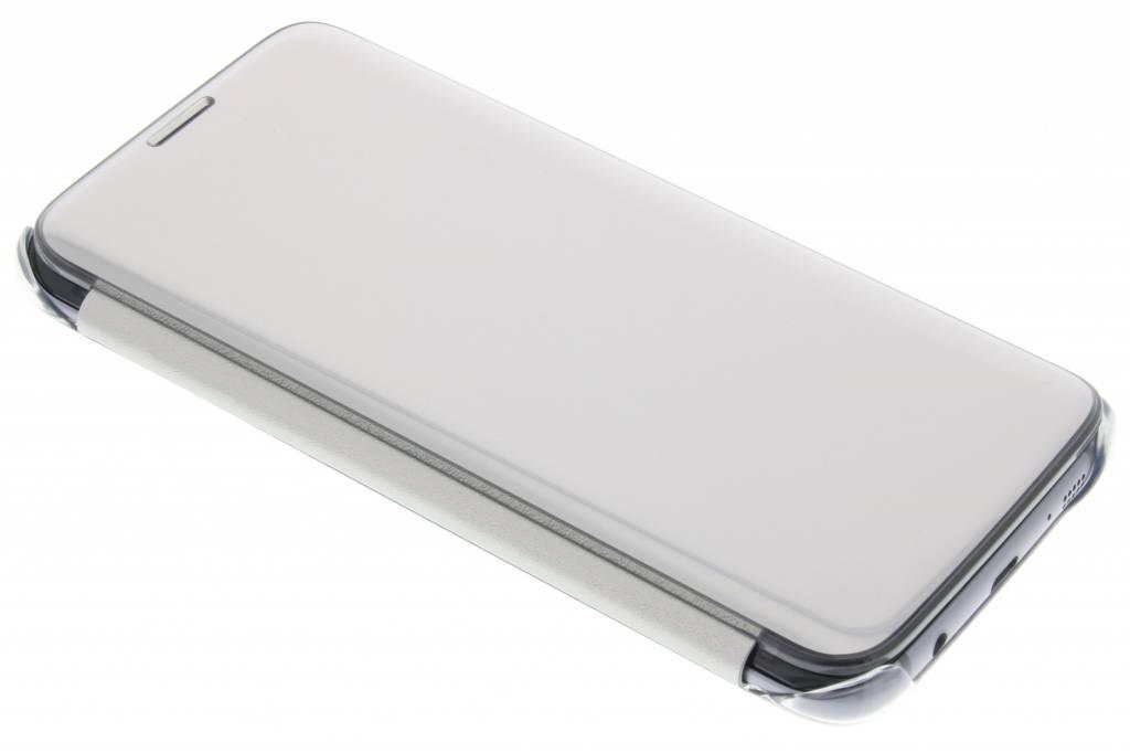 Samsung originele Clear View Cover voor de Galaxy S7 Edge - Zilver