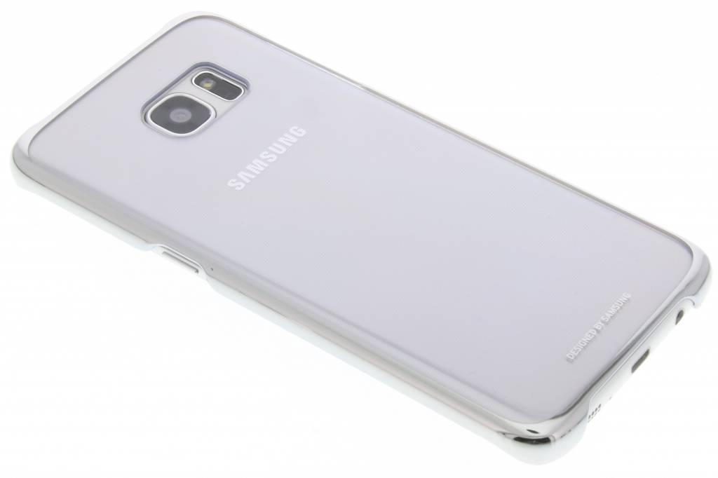 Samsung originele Clear Cover voor de Galaxy S7 Edge - Zilver