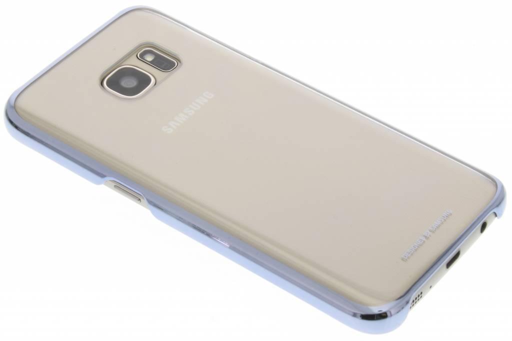 Samsung Galaxy S7 Clear Cover Zwart