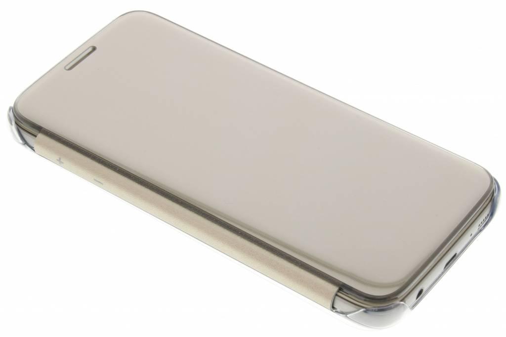 Samsung originele Clear View Cover voor de Galaxy S7 - Goud