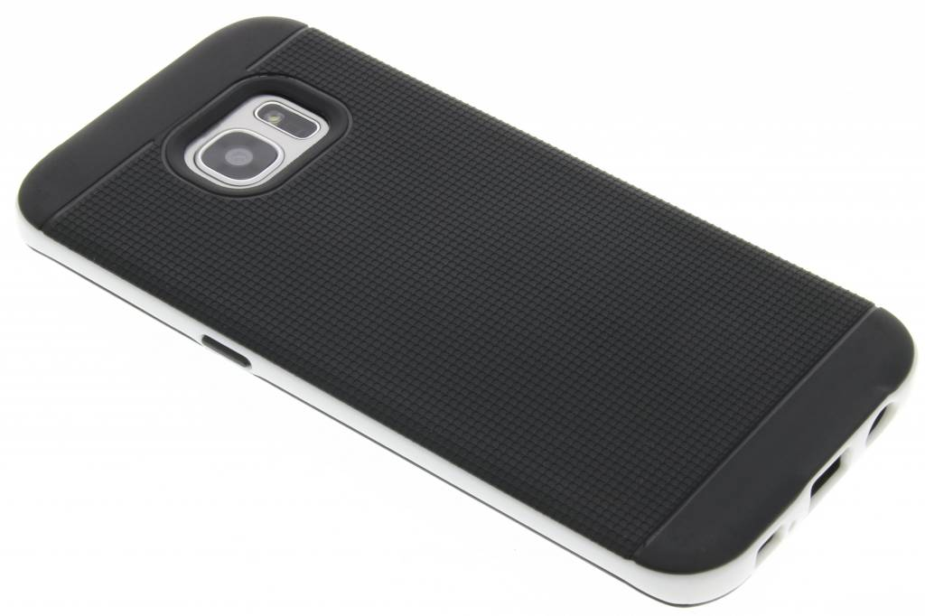Witte TPU Protect case voor de Samsung Galaxy S7 Edge
