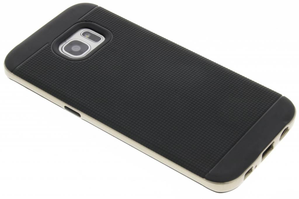 Gouden TPU Protect case voor de Samsung Galaxy S7 Edge