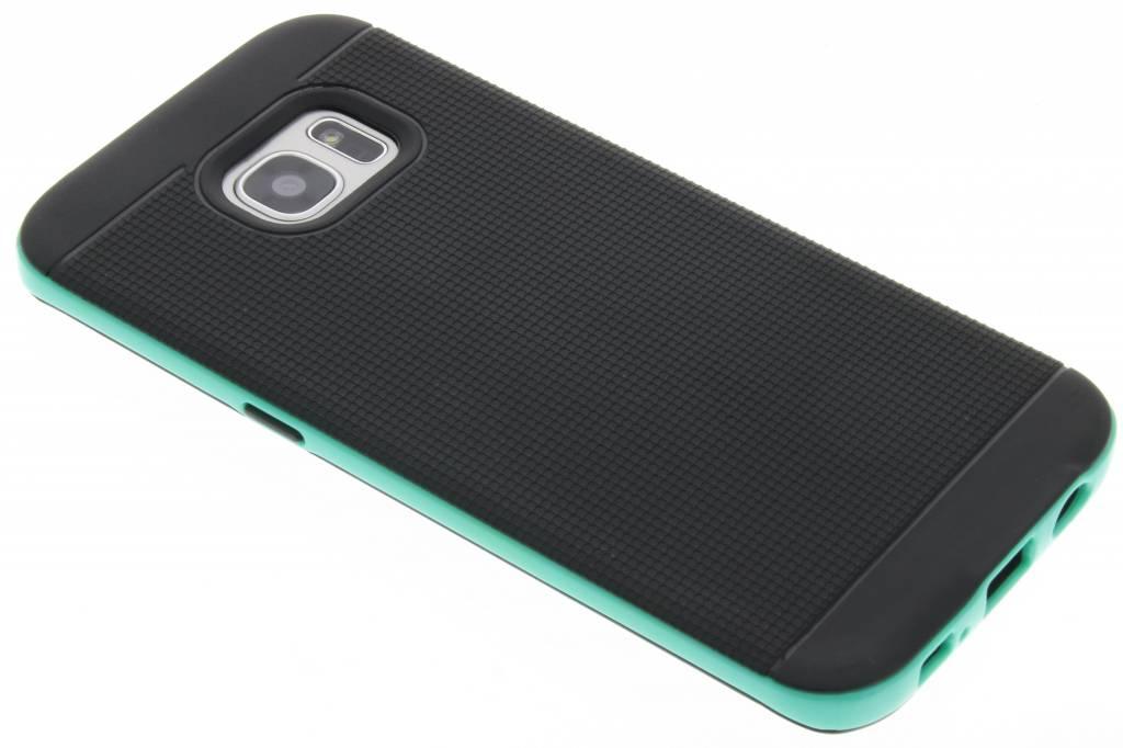 Mintgroene TPU Protect case voor de Samsung Galaxy S7 Edge