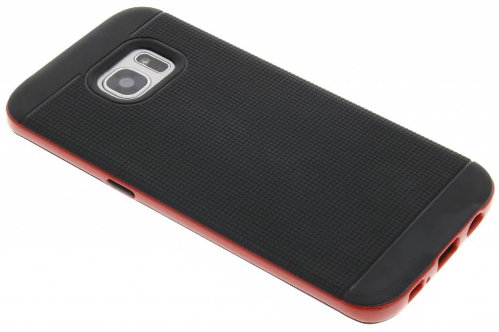 Rode TPU Protect case voor de Samsung Galaxy S7 Edge