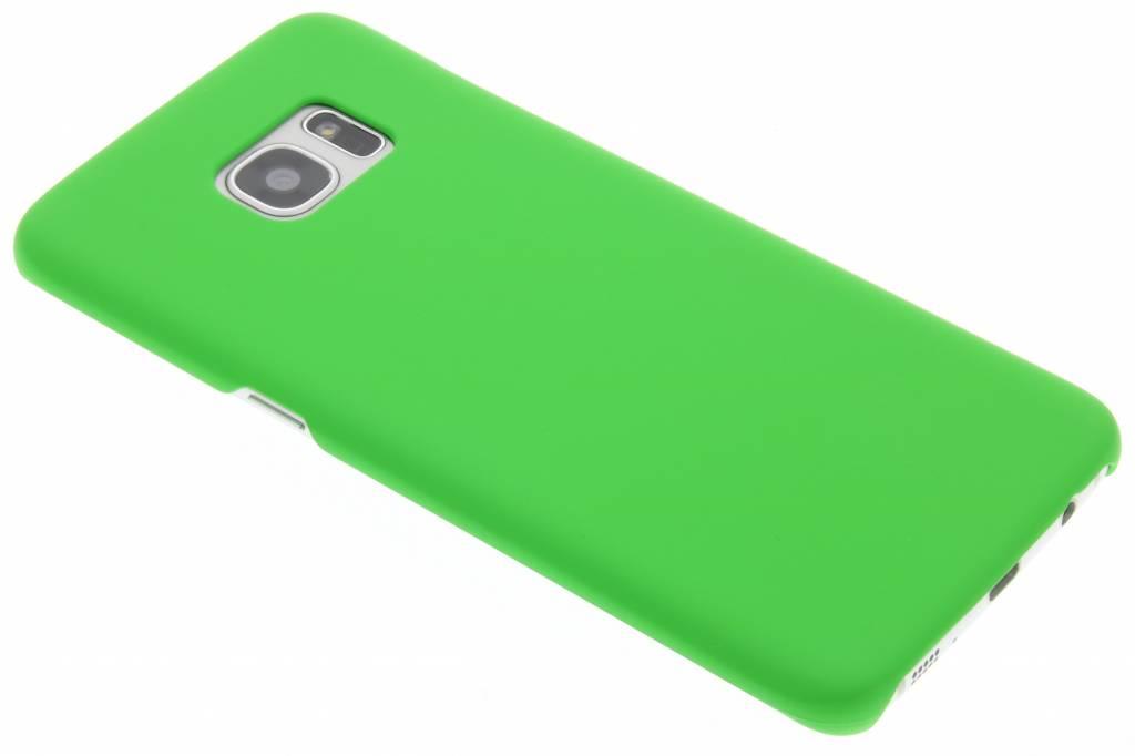 Groen effen hardcase hoesje voor de Samsung Galaxy S7 Edge