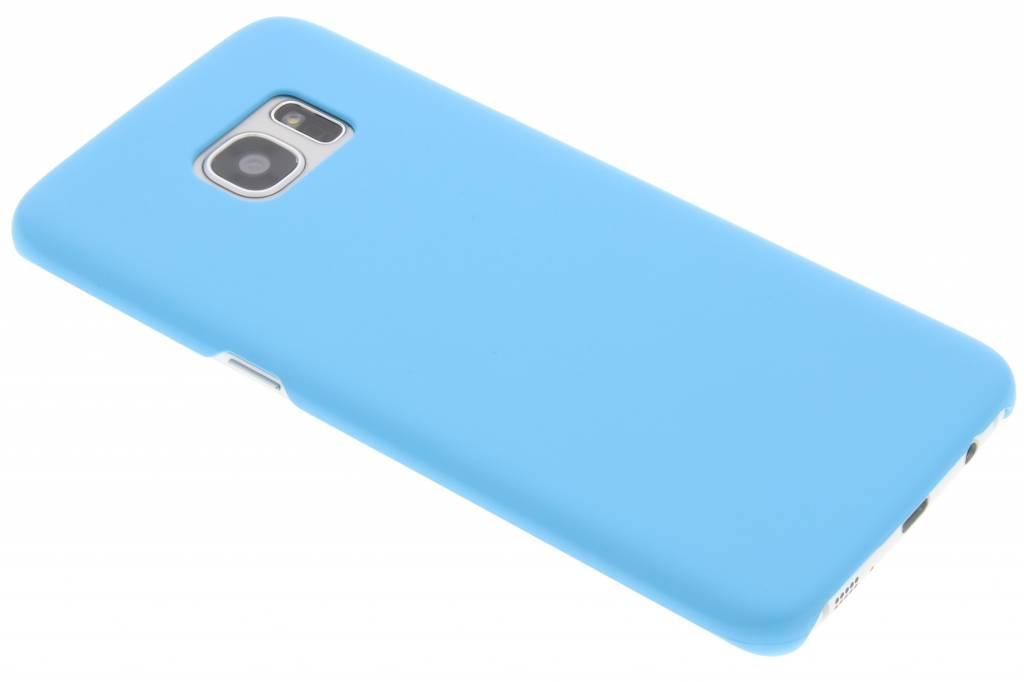 Turquoise effen hardcase hoesje voor de Samsung Galaxy S7 Edge