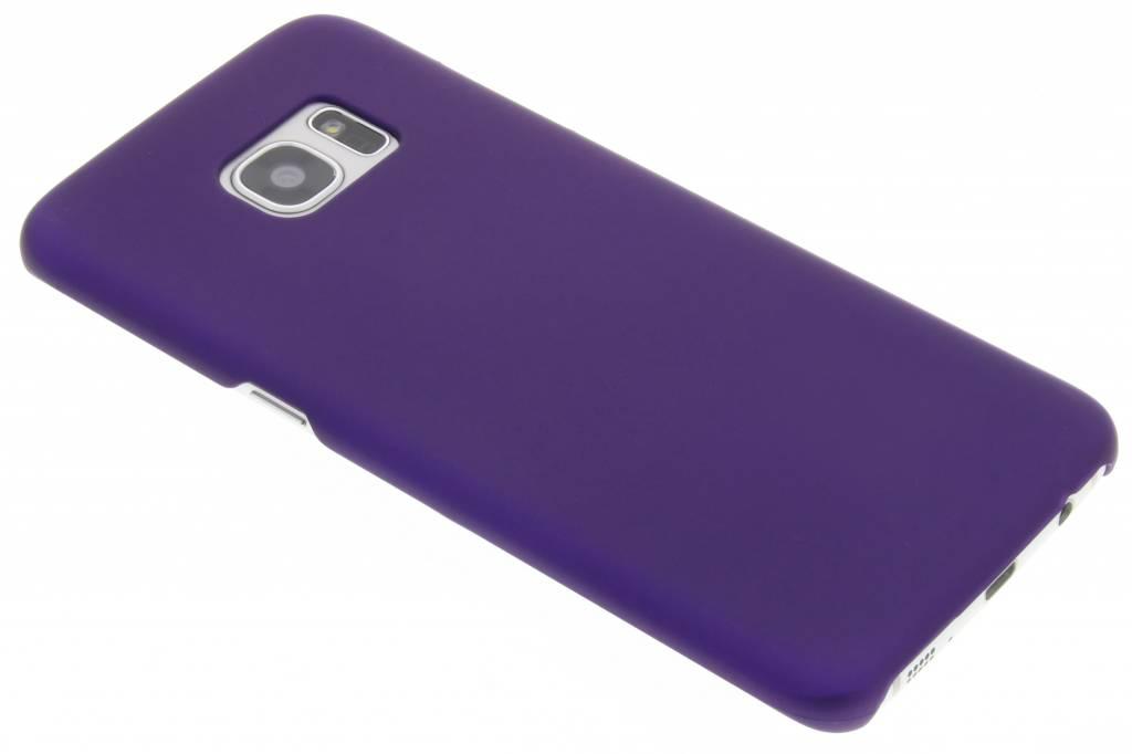 Paars effen hardcase hoesje voor de Samsung Galaxy S7 Edge